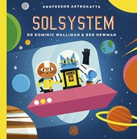 Book cover: Professor Astrokatts solsystem av