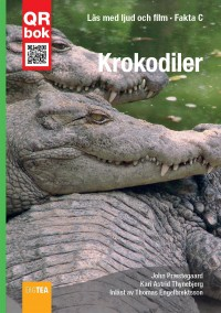 Book cover: Krokodiler av