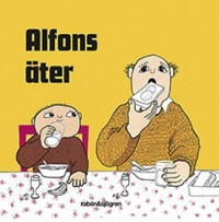 Book cover: Alfons äter av