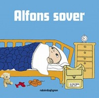 Book cover: Alfons sover av