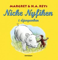 Book cover: Nicke Nyfiken i djurparken av