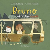 Book cover: Bruno åker buss av