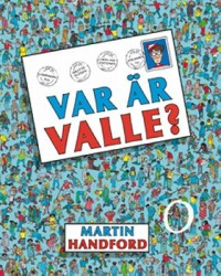 Book cover: Var är Valle? av