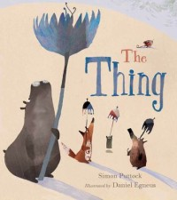 Book cover: The thing av