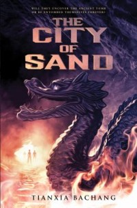 Omslagsbild: The city of sand av