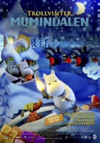 Omslagsbild: Moomins and the winter wonderland av