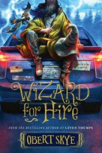 Omslagsbild: Wizard for hire av