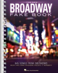 Omslagsbild: The new Broadway fake book av