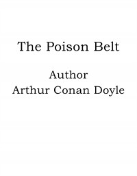Omslagsbild: The poison belt av