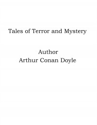 Omslagsbild: Tales of terror and mystery av