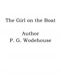 Omslagsbild: The girl on the boat av