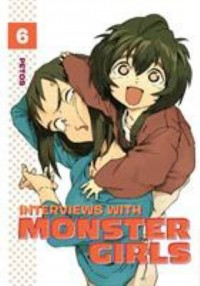 Omslagsbild: Interviews with monster girls av