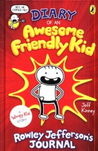 Omslagsbild: Diary of an awesome friendly kid av