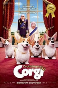 Omslagsbild: The queen's corgi av