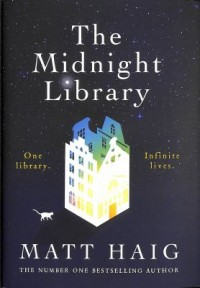 Omslagsbild: The midnight library av