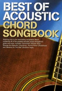 Omslagsbild: Best of acoustic chord songbook av