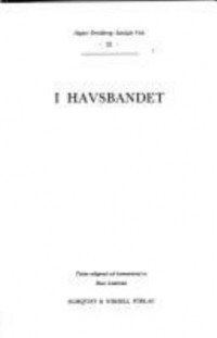 Book cover: I havsbandet av