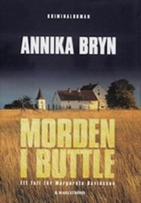 Book cover: Morden i Buttle av