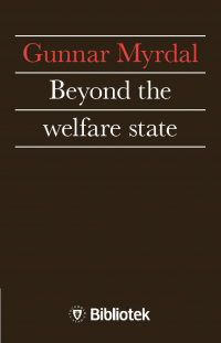 Omslagsbild: Beyond the welfare state av
