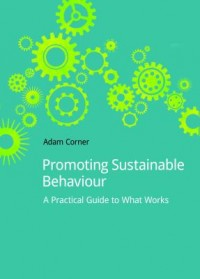 Book cover: Promoting sustainable behaviour by