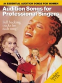 Omslagsbild: Audition songs for professional singers av