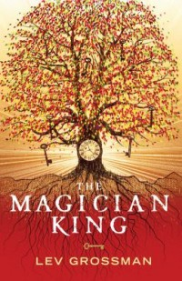 Book cover: The magician king av