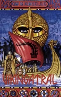 Book cover: Vikingaträl av