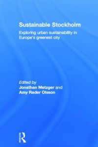 Book cover: Sustainable Stockholm by
