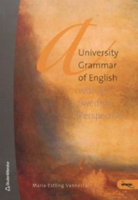 Omslagsbild: A university grammar of English av