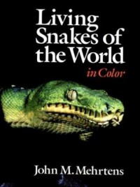 Omslagsbild: Living snakes of the world in color av