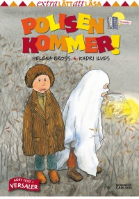 Book cover: Polisen kommer! av