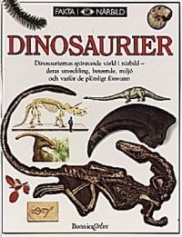 Book cover: Dinosaurier av