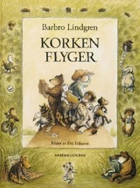 Book cover: Korken flyger av