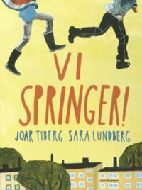 Book cover: Vi springer! av