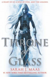 Omslagsbild: Throne of glass av