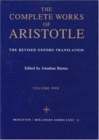 Omslagsbild: The complete works of Aristotle av