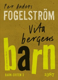 Book cover: Vita bergens barn av