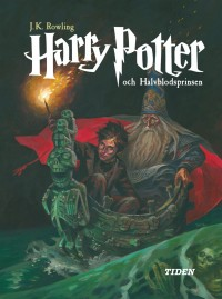 Book cover: Harry Potter och halvblodsprinsen av