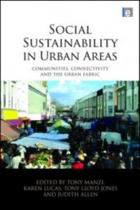 Book cover: Social sustainability in urban areas by