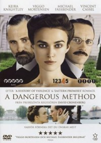 Omslagsbild: A dangerous method av