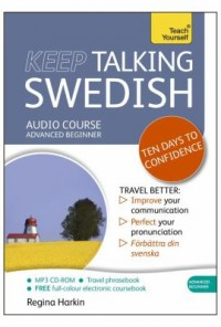 Omslagsbild: Keep talking Swedish av