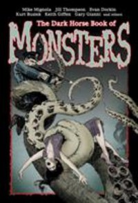 Omslagsbild: The dark horse book of monsters av