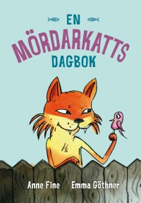 Book cover: En mördarkatts dagbok av