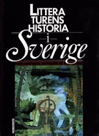 Cover art: Litteraturens historia i Sverige by