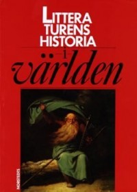 Cover art: Litteraturens historia i världen by