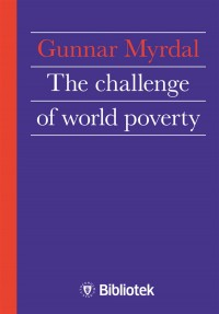 Omslagsbild: The challenge of world poverty av