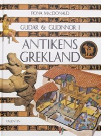 Book cover: Gudar & gudinnor i antikens Grekland av