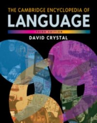 Omslagsbild: The Cambridge encyclopedia of language av