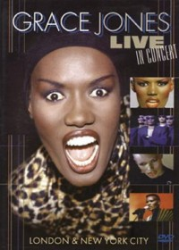 Omslagsbild: Grace Jones live in concert av