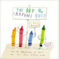 Omslagsbild: The day the crayons quit av